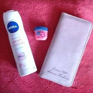 Take all - Deodorant Spray - Lip Theraphy - Wallet