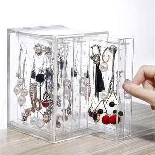 Earrings acrylic storage