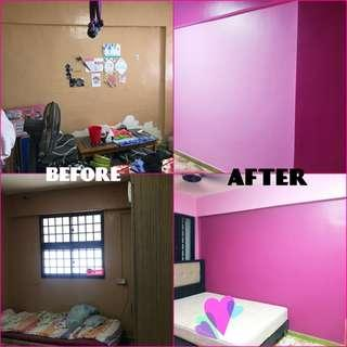 Plastering & PAINTING Full House Package
