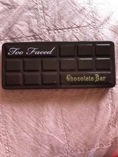 Too faced Chocolate bar palate