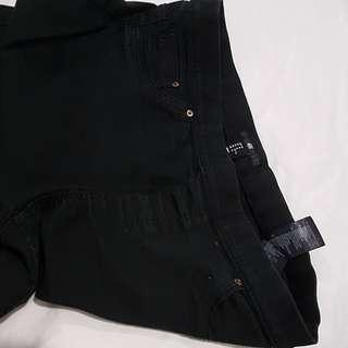 H&M stretchable slim black pants