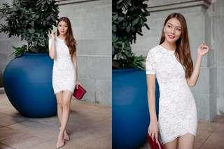 Whispers of Camellia Dress (ivory)
