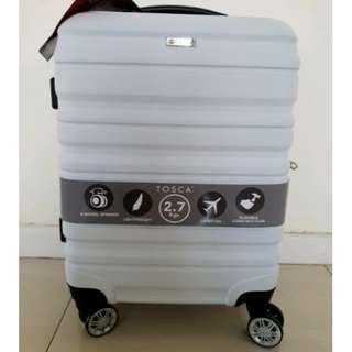 Tosca Evolution Carry On Luggage,TSA lock,Dual Spinner, Hardshell