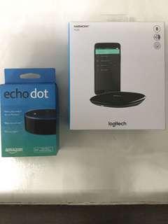 USED Amazon Echo Dot Gen 3 Bundle