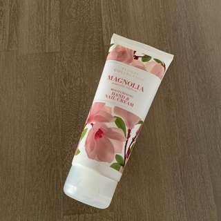 Marks and Spencer's Magnolia hand cream