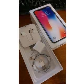 🚚 Apple iPhone X 原廠配件組 充電器 傳輸線 耳機 轉接線