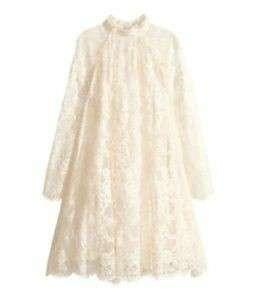H&M Conscious collection size 10 lace dress