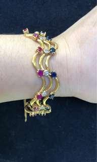 Vintage 916 Gold Bracelet