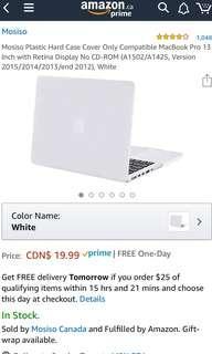 """MacBook Pro 13"""" white case"""