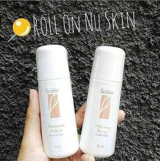 Scion Nu Skin whitening Roll-On 75ml