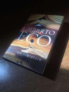 Umberto Eco - On Literature [repriced]