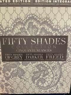 50 shades of grey Box set Blue Ray