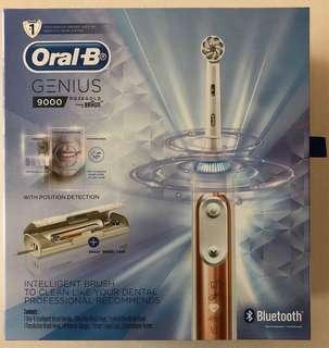 Clearance! Oral-B Genius 9000 Rosegold Electric Toothbrush