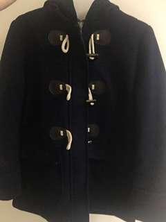 🚚 日系學院風牛角扣外套 #十二月女裝半價