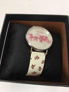 🚚 COACH專櫃款 36mm皮革女錶