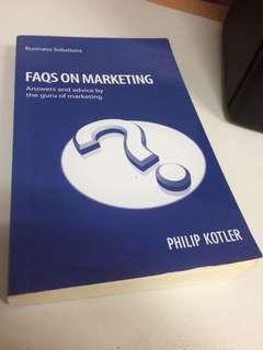 FAQS ON MARKETING BY PHILIP KOTLER