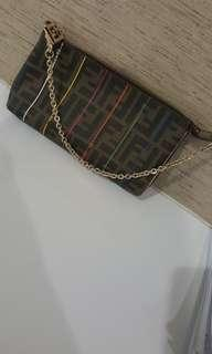 Fendi clutch/shoulder/sling bag