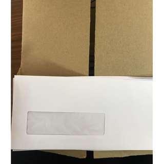 White Window Envelope (102 x 229)mm - 500 pcs