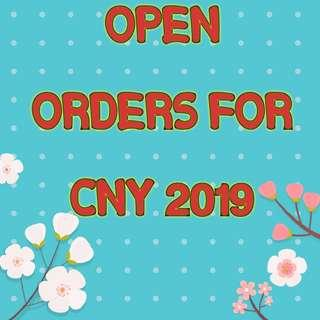 🎉Open orders for Chinese New Year🎉