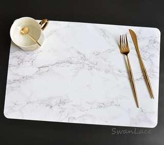 🚚 Offer now ! Instock PVC Marble Design Table Mat / Placemat