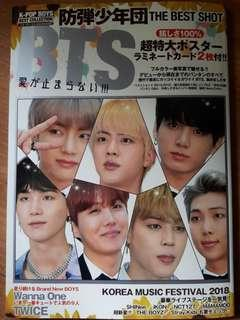 [JAPAN IMPORTED] MAGAZINE: K-Pop Boys Best Collection - BTS The Best Shoot