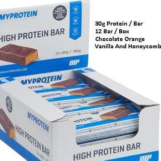 Protein Bar whey Myprotein [ Listed : Jan 2019 ]