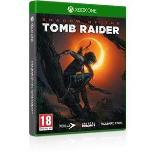 XBox One Shadow of the Tomb Raider (English Version) / XBox One 古墓奇兵:暗影 ( 英文版)