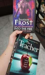 🚚 LN THE TEACHER/INTO THE FIRE JEANINE FROST