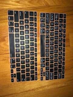 "MacBook Pro 13"" keyboard covers"