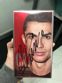 Ronaldo parfume with real signature