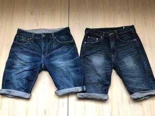 🚚 Levi's 經典 牛仔 短褲 32腰