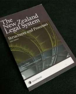 FIRST YEAR LAW - NZ LEGAL SYSTEM