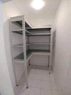 Full Metal L shape storage rack