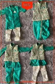 4 piece Indian boy dress