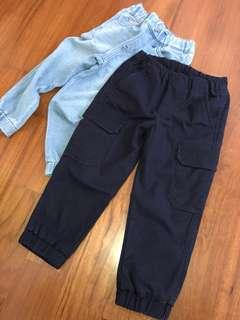 UNIQLO boys pants 110cm