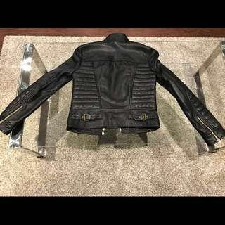 J Crew Collection Leather Jacket