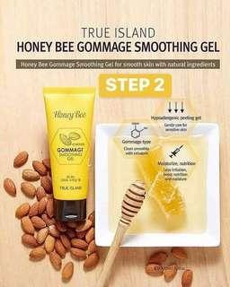 HONEY BEE ALMOND GOMMAGE FACE SCRUB