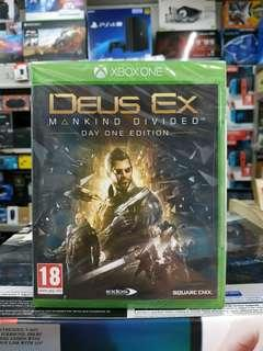 👍 Xbox One Deus Ex Mankind Divided Day One Edition