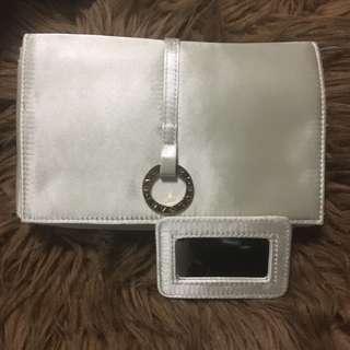 Bvlgari make up pouch