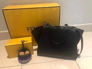 Fendi 2jours Calf Leather