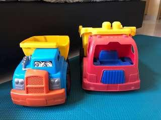 Toy Dump Truck (2 types)