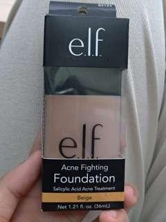 🚚 ELF acne fighting foundation.