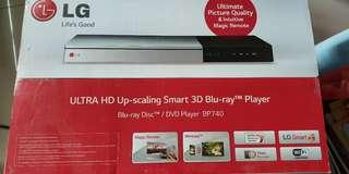 LG ultra HD SMART 3D Blu-ray Player