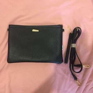 Miniso slingbag black