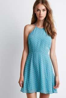 Forever 21 Halter Birds Dress