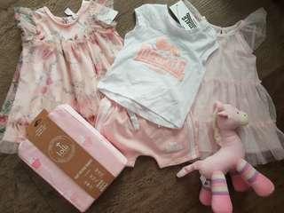 Girls summer bundle size 00 dresses