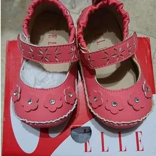 ELLE寶寶鞋(玫瑰紅)