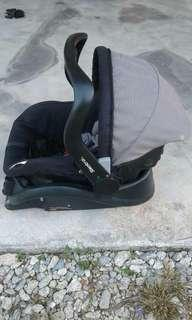 Steelcraft baby capsule carseat & carrier