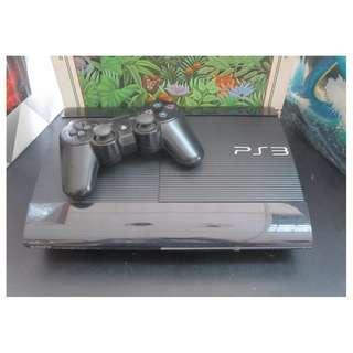 PS3 PLAYSTATION 3 SUPERSLIM 500GB CONSOLE