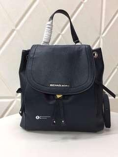 Michael Kors Riley Backpack - navy blue